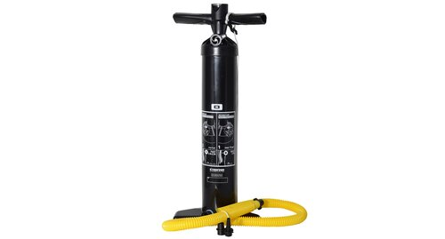 Bravo - XL - Double stroke air pump with pressure gauge